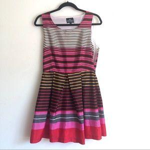 Angie striped dress